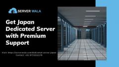 Get Japan Dedicated Server with Premium Support