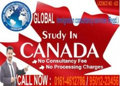 Apply study visa for Canada with no consultancy fee