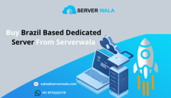 Buy Brazil Based Dedicated Server From Serverwala