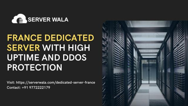France Dedicated Server with High Uptime and DDoS Protection