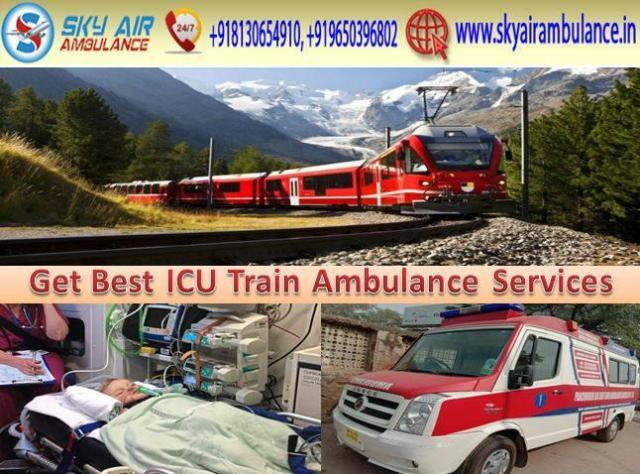 Hire Sky Train Ambulance Service in Patna with Doctor