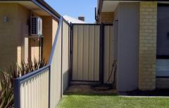 Choose us to get the colorbond fence installation perth