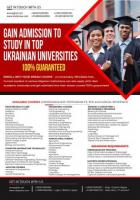 STUDY STANDARD EUROPEAN EDUCATION IN UKRAINE AT LOWER TUITION FEES,EASY START